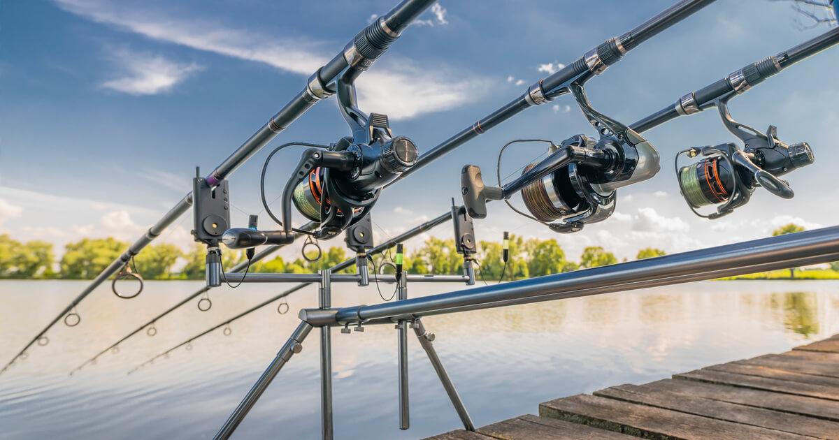 Mit Rod Pods angeln und entspannen