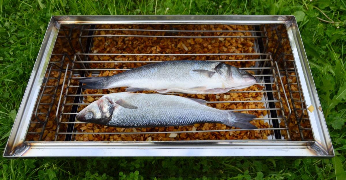 Räucherofen - Gefangenen Fisch durch Räuchern schmackhafter & haltbar machen