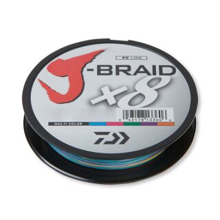 DAIWA J-Braid X8 0,28mm 26,5kg 300m Multi Color