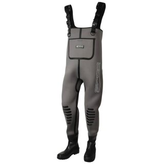Anzüge Angelsport 39 Wathose by TACKLE-DEALS !!! SPRO 4mm Neoprene Chest Wader PVC Boots Gr