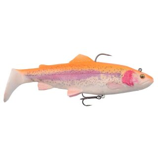 SAVAGE GEAR 4D Trout Rattle Shad 17cm 80g MS Golden Albino