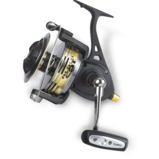 Black Cat Buster Spin FD 640 Spinnrolle f/ür Wels Wallerrolle zum Spinnfischen Angelrolle zum Wallerangeln