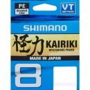 SHIMANO Kairiki 8 0,16mm 10,3kg 300m Yellow
