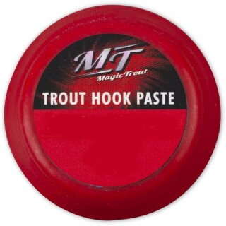 QUANTUM Magic Trout Trout Hook Paste Rot 70cm 0,20mm Gr.6 7Stk.