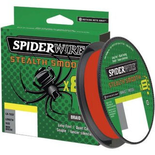 SPIDERWIRE Stealth Smooth8 0,15mm 16,5kg 300m Code Red