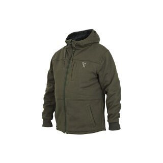 FOX Collection Green/Silver Sherpa Hoodie