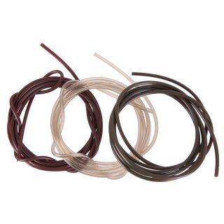 ANACONDA Anti Tangle PVC Tube 1,0x2,0mm Limpid Mud