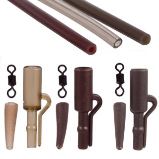 ANACONDA Safety Lead Clip Set Dark brown