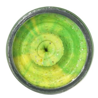 BERKLEY Powerbait Dough Natural Scent Liver Fluo Green Yellow 50g